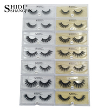 SHIDISHANGPIN 3d mink lashes eyelashes eyelash extension supplies maquiagem false