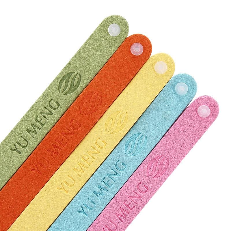 Image 4 - 5pcs Ultra fiber insect repellent bracelet essential oil anti mosquito bracelet natural harmless bedroom outdoor children belt-in Repellents from Home & Garden
