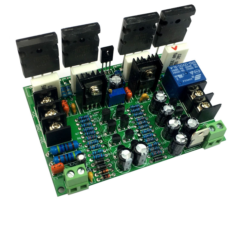USING USA WY2963/WK5688 power tube <font><b>200W</b></font> Mono power <font><b>Hifi</b></font> fever class Pure after the class <font><b>amplifier</b></font> board image
