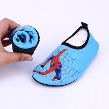a6d7ca6e8048 New Fashion Children Shoes Quick Dry sport running Anti-slip for Swimming  Pool Beach Kids Shoes Girls Spider-Man Baby Boys Shoes