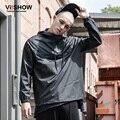 Viishow men's Hoodies Pullover Men Long Sleeve Casual Sweatshirt with Hoody Loose Hoodie Fitness Hip hop Brand Clothing WD02363