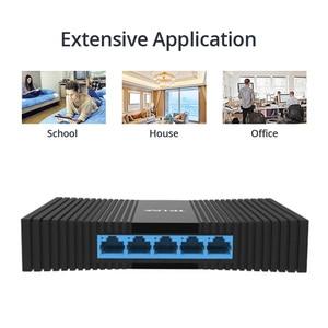 Image 3 - Коммутатор Gigabit Network Switchs, 5 портов, 10/100/1000 Мбит/с, RJ45 порт, простой смарт коммутатор для сети Ethernet, концентратор локальной сети