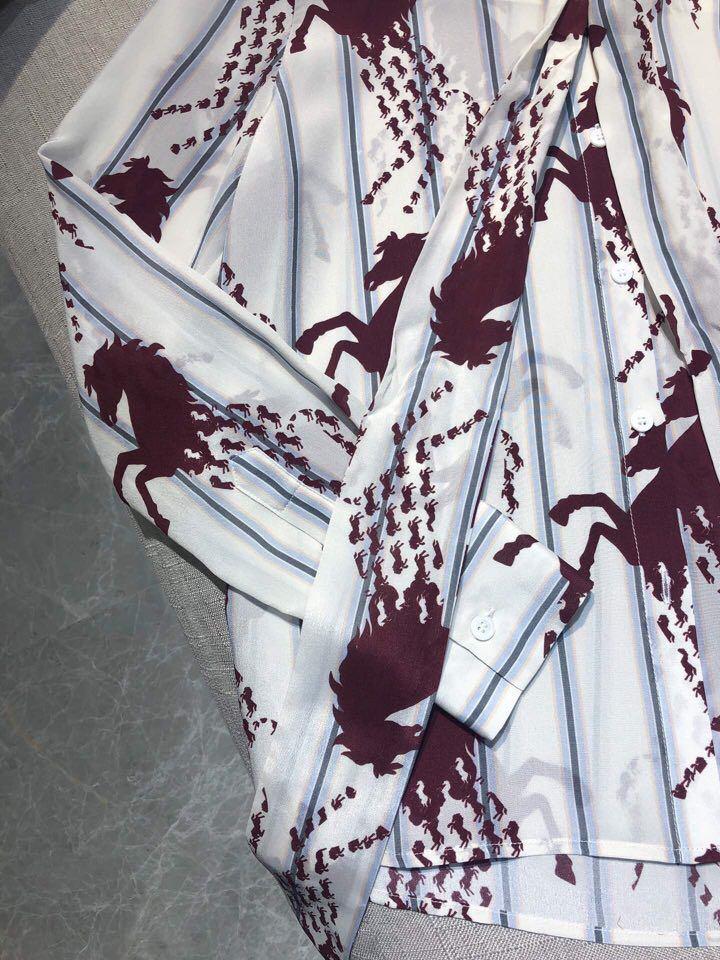 Marque 2019 Style Blousesamp; Chemises Piste Partie Mode Design Vêtements Européenne Femmes D01187 De Luxe NX0kw8OZnP