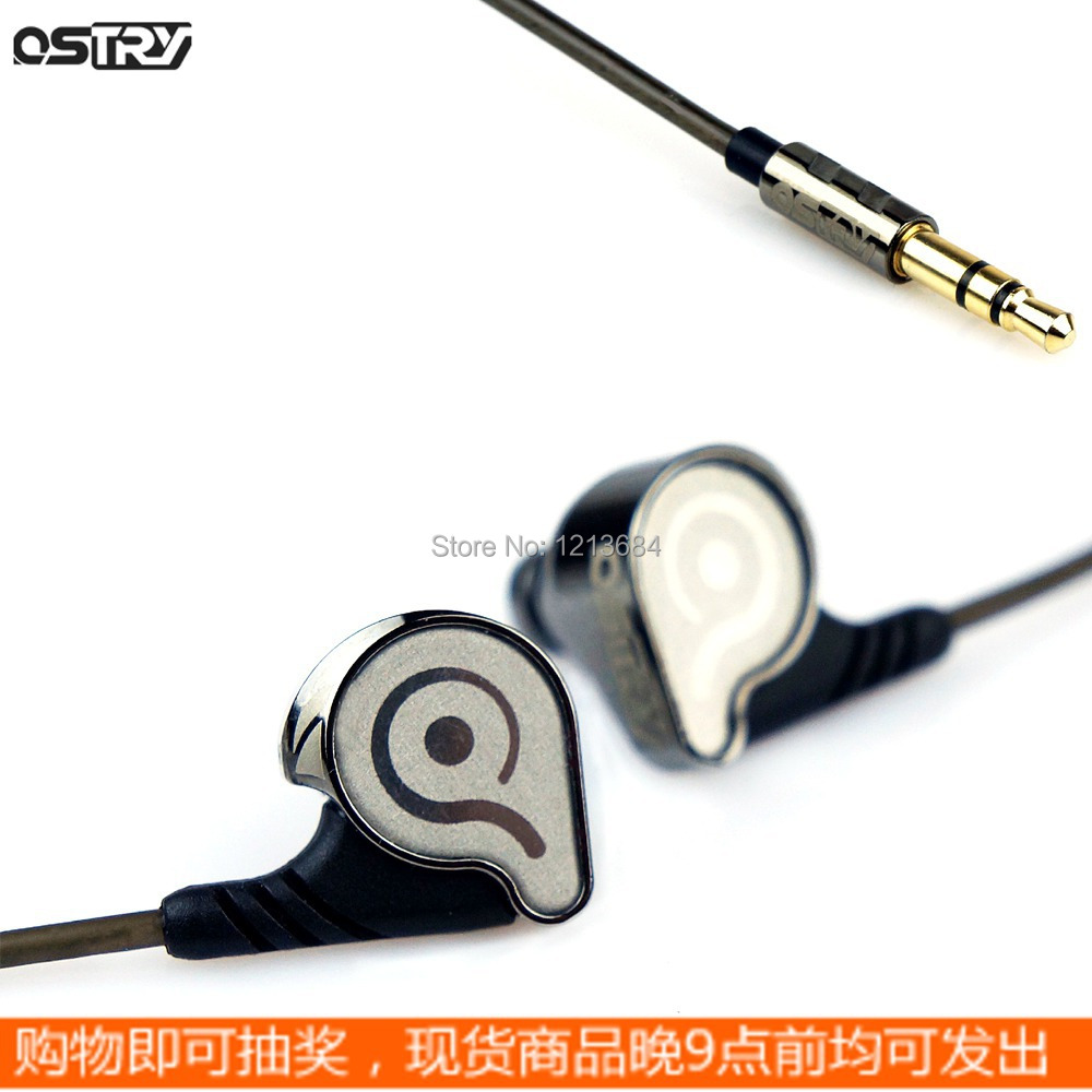 Original Ostry KC06 10mm Dynamic Super Bass HIFI Vacuum Coating TPU Stereo In-Ear Music Earbuds Earphones For iPhone Samsung m320 metal bass in ear stereo earphones headphones headset earbuds with microphone for iphone samsung xiaomi huawei htc