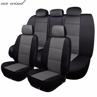 car wind auto leather car seat cover Automotive seat cover Universal for toyota hilux bmw x3 vw hyundai accent car accessories