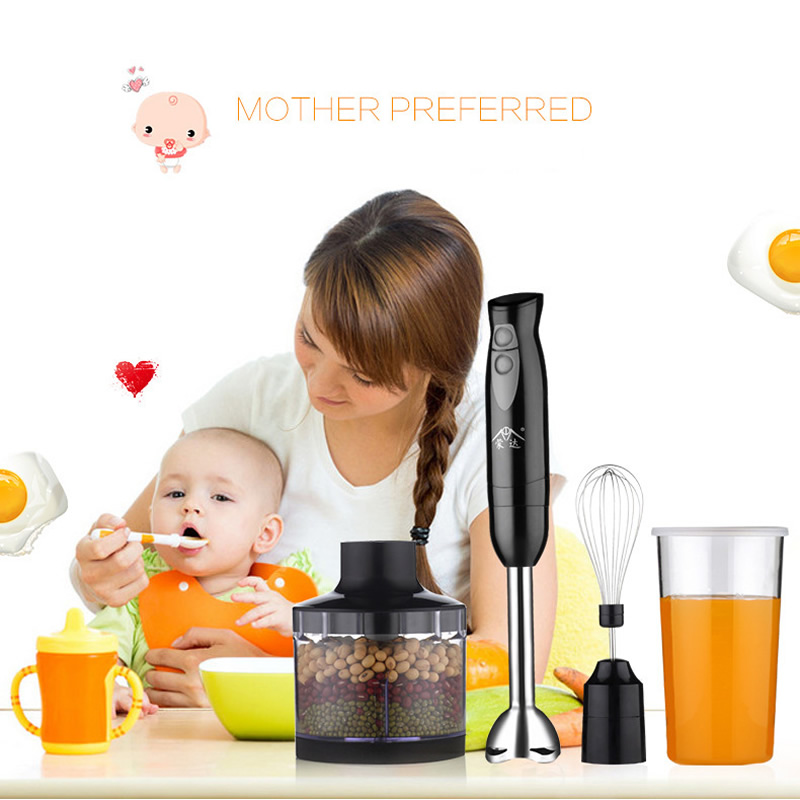 Portable Multifunction Household Handheld Blender 2 Gear Speed Cooking Machine for Baby food Egg Beater Mixer