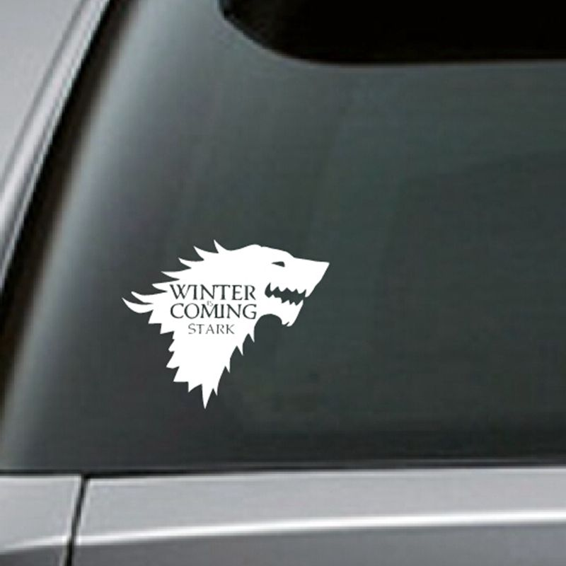 Free shipping stark vinyl car decal game of thrones sticker