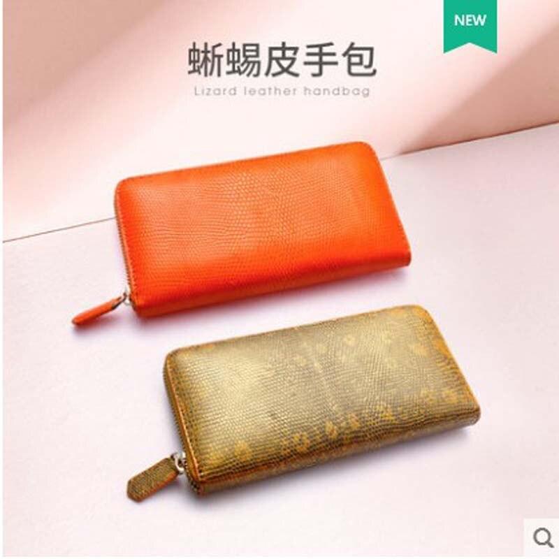 a1 Yuanyu Brieftasche Eidechse Für Lange Geldbörse Tasche A2 karte Importiert Echt Kupplung Leder Multi Haut Dame 2019 Hand pxFqrp