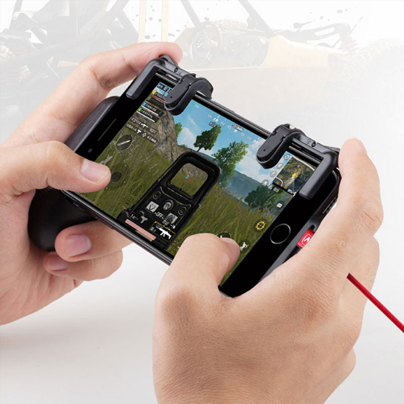 Gamepad holder for Knives out for Rules of Survival Mobile Game Fire Button phone Mobile Gaming Trigger L1R1 Shooter Controller