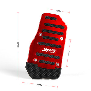 Image 3 - RASTP   3Pcs Aluminum Car Manual Series Automatic Brake Accelerator Non slip Foot Rest Pedal Pad Cover Car Accessories RS ENL018