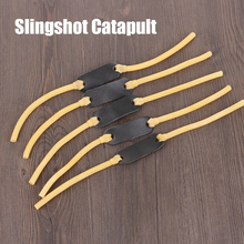 1 X 6*9mm Durable Rubber Bands Elastic Bungee Replacement for Slingshot Catapult Outdoor Hunting Anti-Slip Leather Latex Tube
