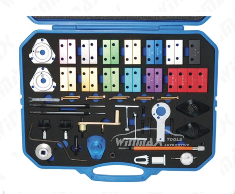 63 PCS Master Engine Timing Tool Kit For Alfa Romeo Fiat Lancia Colour Coded  WT04A2030 good quality engine timing tools for fiat