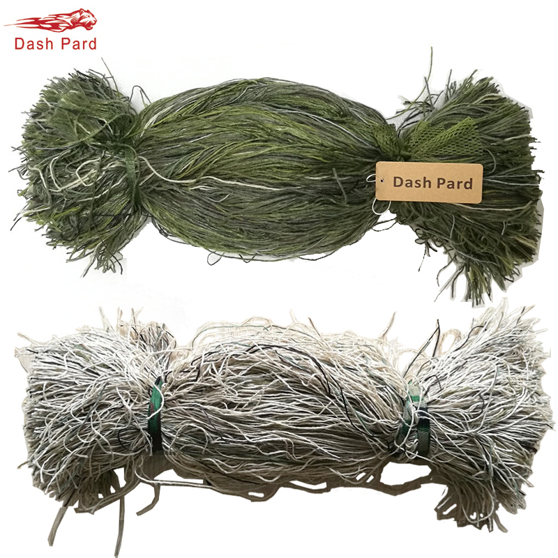 Synthetic Thread Burlap Yarns For Hunting Ghillie Suit Ghillie Paintball Kit DIY camouflage equipment material 1 bag/Lot metalowe skrzydła dekoracyjne na ścianę