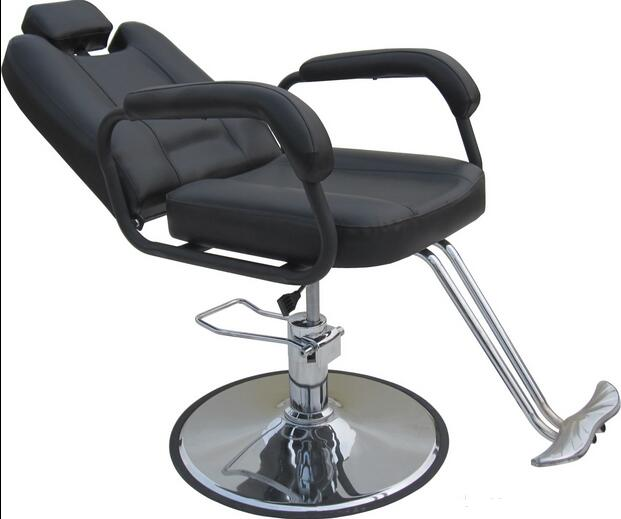 Barber Chair HOT Gift Shop Hair Salon Haircut Chair Can Recline Lift Chair