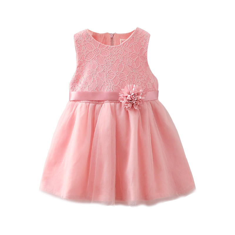 Flower Lace Princess Toddler Girl Dress Summer 2018 Christmas Party Tutu Tulle Dresses Clothes For Children 1-4Y Birthday baby princess girl dress 1 2 3 birthday party for toddler girl clothing stripe tutu dress children casual dresses infant clothes