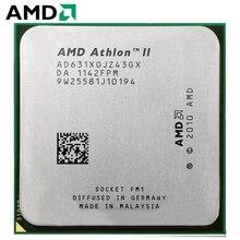 AMD Athlon II X4 631 гнездо FM1 100 Вт 2,6 ГГц 905-pin четырехъядерный процессор для настольных ПК X4 631 гнездо FM1