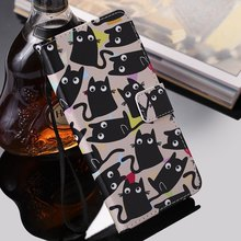 Lovely Kitten Cute Animals Book Case For Wallet Oneplus 5 6 One Plus Five Six Flip Fundas PU Leather Card Slot Stand Covers E06Z