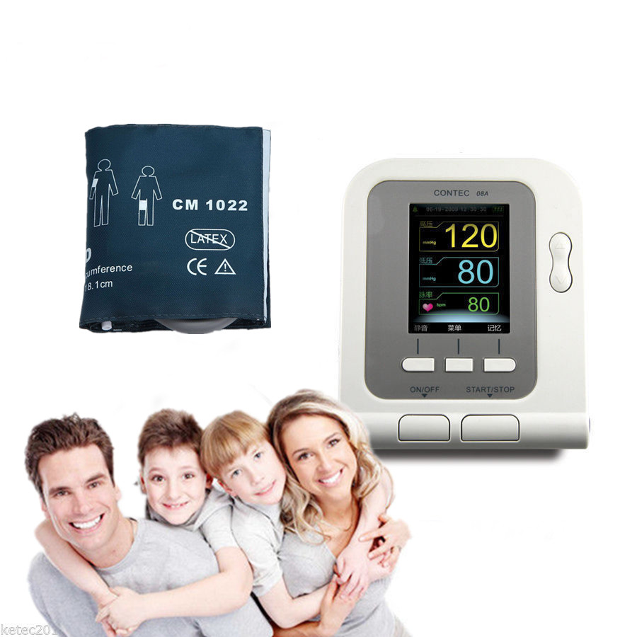 For Child Digital NIBP Monitor High Accuracy Rate Ambulatory Blood Pressure Monitor with Infant cuff sphygmomanometer Meter portable lcd digital manometer pressure gauge ht 1895 psi air pressure meter protective bag manometro pressure meter