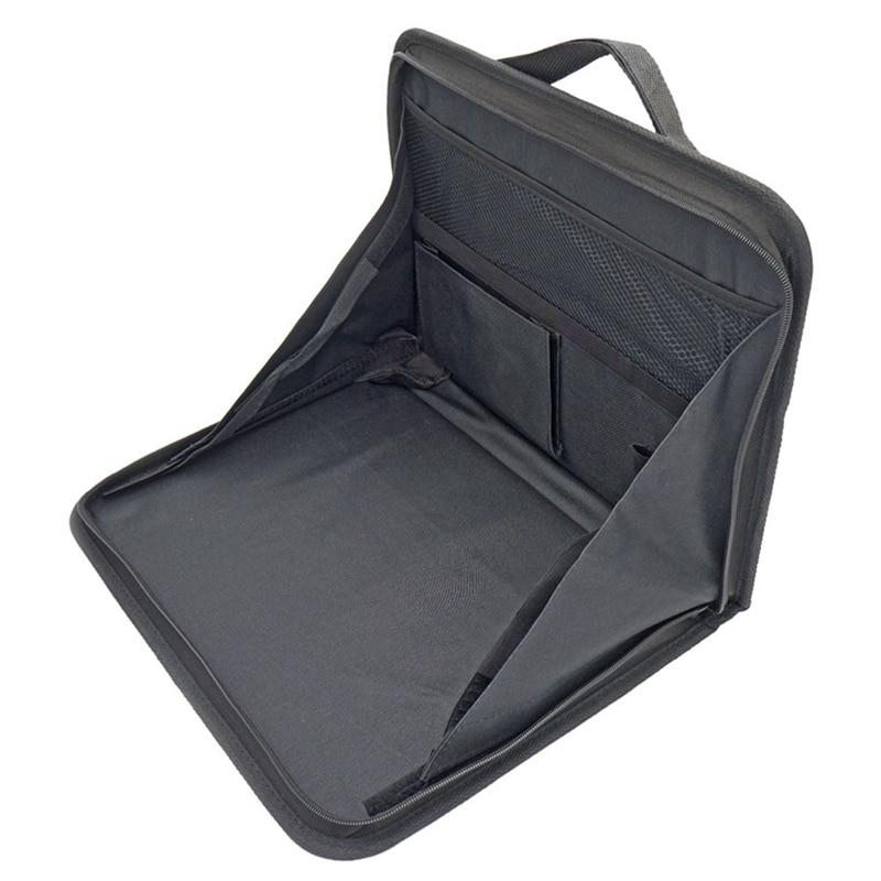 Portable Car Computer Desk Bracket Foldable Laptop Desk Car Back Seat Table Laptop Holder Food Desk Nets Storage Bag Nets
