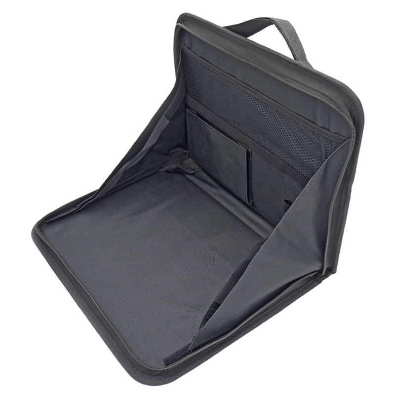 Automobiles & Motorcycles Portable Car Computer Desk Bracket Foldable Laptop Desk Car Back Seat Table Laptop Holder Food Desk Nets Storage Bag Interior Accessories