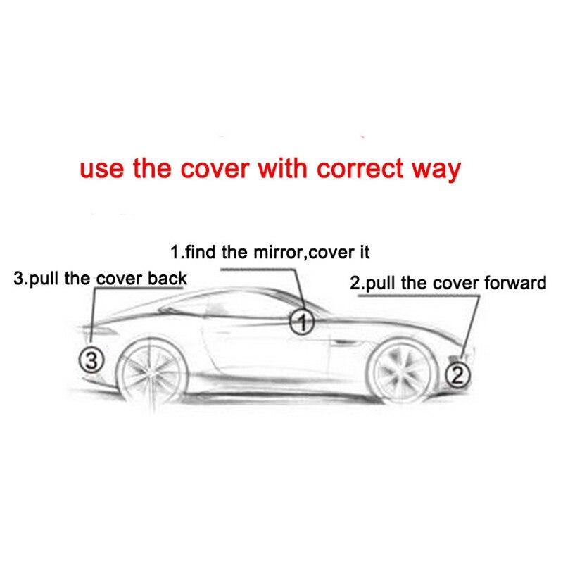 Kayme փոշեկուլային Full Car Covers 170T - Ավտոմեքենայի արտաքին պարագաներ - Լուսանկար 6
