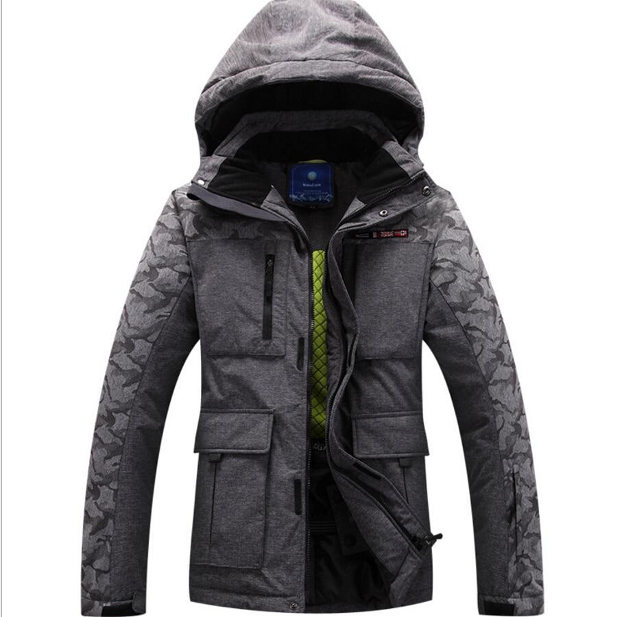 Man Ski font b Jacket b font Warm Outdoor font b Hiking b font Camping Clothing