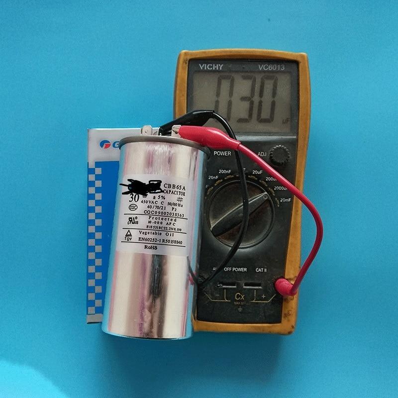 Genuine Air Conditioning Capacitor Compressor Start