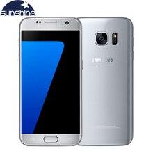 """Оригинальный Samsung Galaxy S7 4 г LTE мобильный телефон G930V/f/4 г Оперативная память 32 г Встроенная память 5.1 """"12.0MP Камера NFC Android-смартфон"""