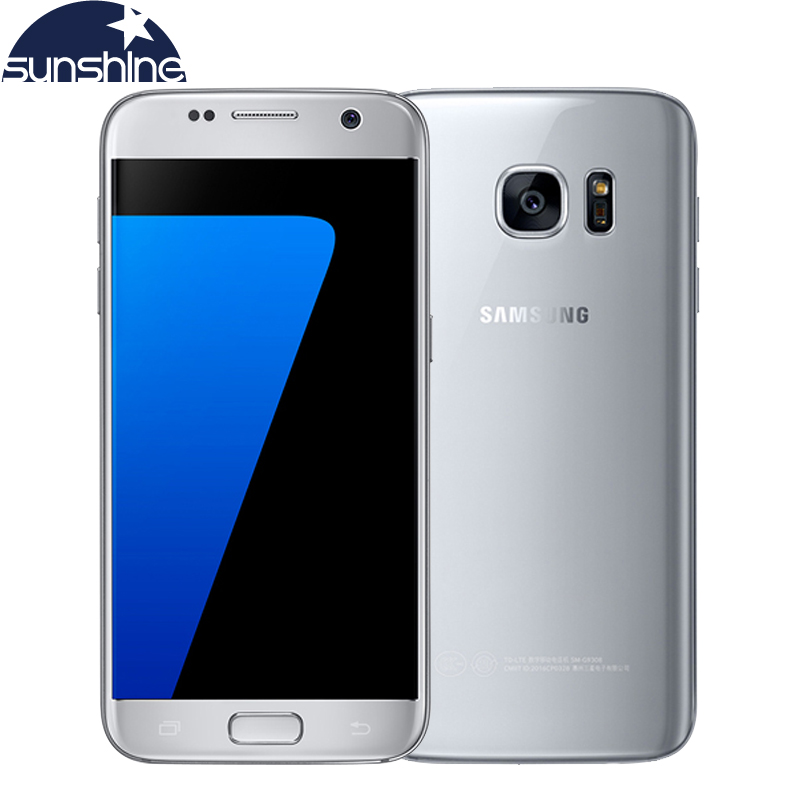 Original Samsung Galaxy S7 4G LTE Mobile phone G930V/F/A 4G RAM 32G ROM 5.1'' 12.0MP Camera NFC Android Smartphone image
