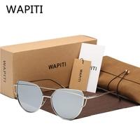 WAPITI Brand 2017 Fashion Woman Sunglasses Polaroid Color Film Eyewear UV400 Polarized Aluminum Magnesium Glasses 074