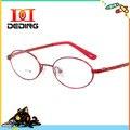 Детская резинка титана очки студенты круглый оптический миопия очки кадр Estudantes Estrutura Armacao де óculos DD0600