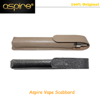 1 Piece Aspire Elektronik Sigara Accessory Genuine Leather Vape Scabbard 100 Original Made In China