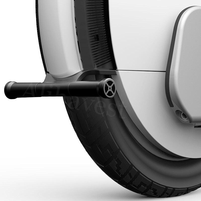 Kickstand Estande Estacionamento para Ninebot Um A1 S1 S2 Apoio De Scooter Elétrica do Metal Carrinho de Mão