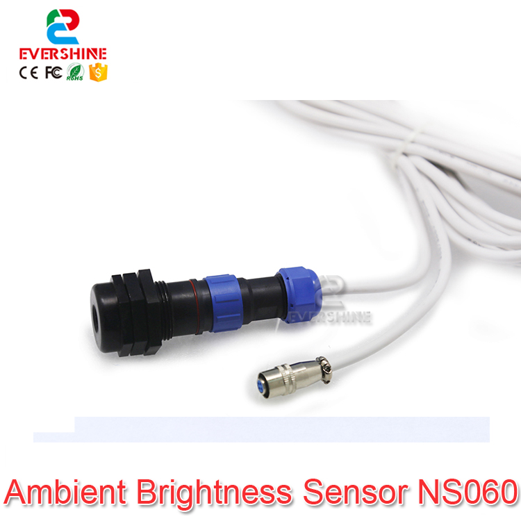 Nova Ambient Brightness Sensor NS060 Use for Nova MSD300/600 MCTRL300/610 PBOX150 Or Function Card MFN300 Support Light Sensor цена и фото