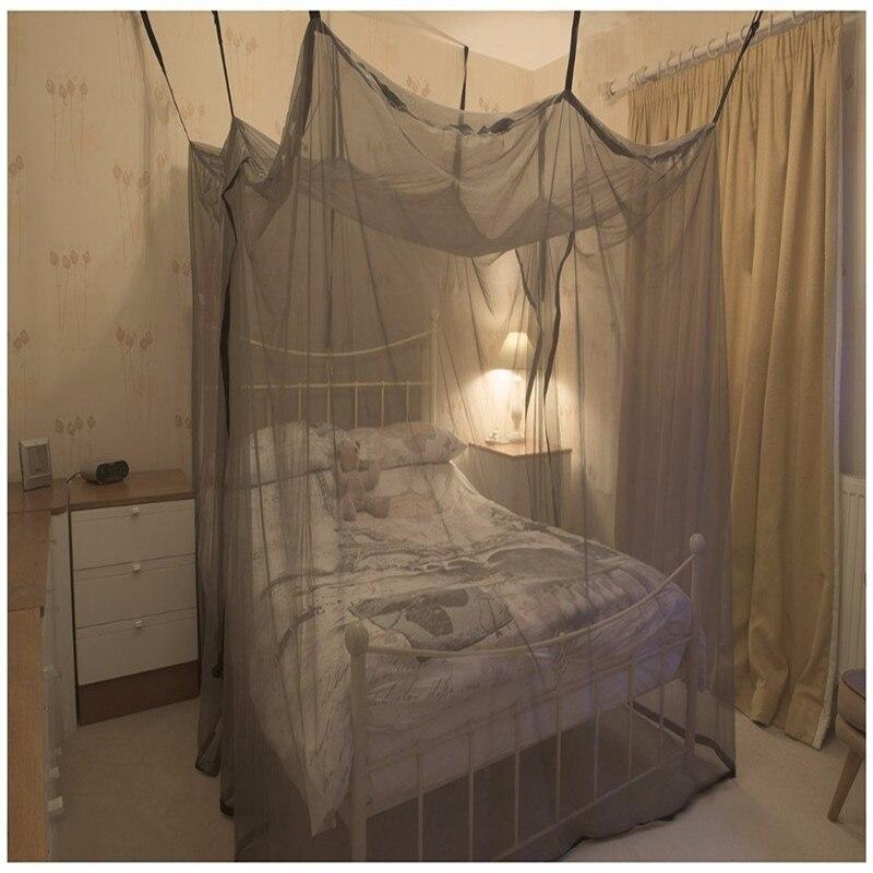 Protecção contra as radiações EMI blindagem mosquito cama de dossel net