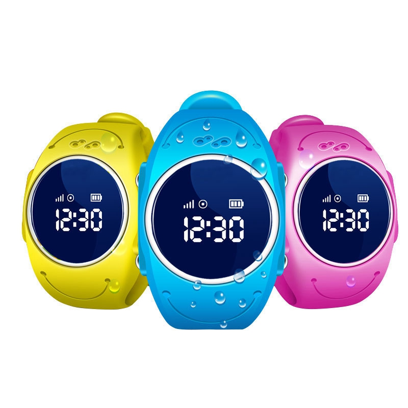 Original Q520S Children Smart font b Watch b font with SOS WIFI GPS Smartwatch IP68 Waterproof