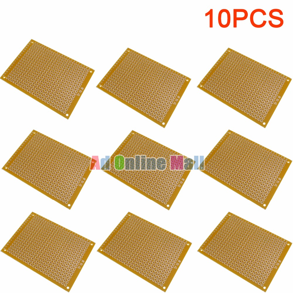 Buy 10 Pcs Breadboard And Get Free Shipping On 50mmx70mm Single Side Copper Cover Pcb Circuit Board Stripboard