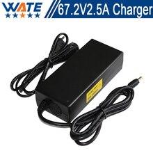 67.2 V 2.5A Cargador 16 S 60 V li-ion Del Cargador de batería de Salida DC 67.2 V Con ventilador de refrigeración Envío Gratis