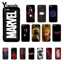Yinuoda Deadpool Iron Man Marvel Avengers Luxury Unique Design PhoneCase for iPhone 8 7 6 6S 6Plus X XS MAX 5 5S SE XR Cover