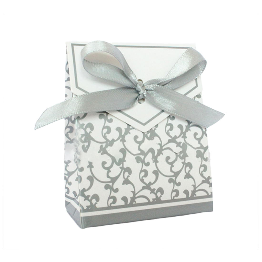 Well 10pcs Creative Golden Silver Ribbon Wedding Favours Party Gift ...