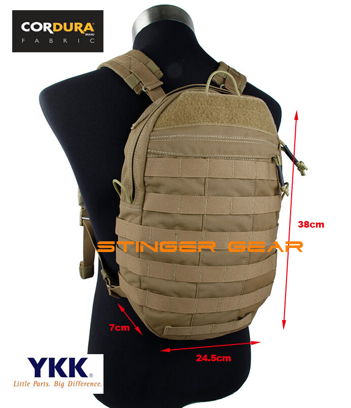 TMC JPC Plate Carrier Backpack Coyote Brown JPC Vest Back Panel Pack Bag+Free  shipping(SKU12050816) 673863711daa9