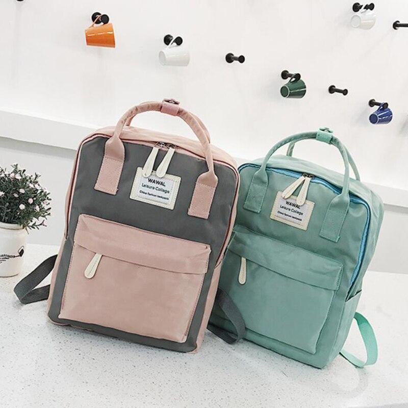 HTB1pEOQdi6guuRjy1Xdq6yAwpXan Yogodlns Campus Women Backpack School Bag for Teenagers College Canvas Female Bagpack 15inch Laptop Back Packs Bolsas Mochila