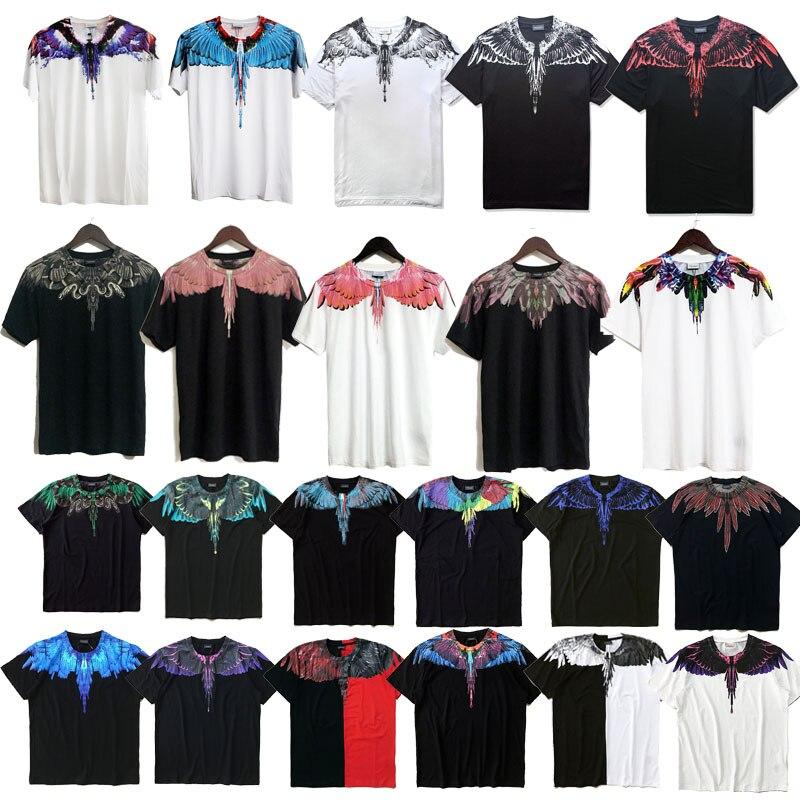 Nuovo Marcelo Burlon T Shirt 2018 Donne Degli Uomini di Alta Qualità di 1:1 Marcelo Burlon Ala Jordan T Shirt Da Uomo Casual Marcelo Burlon T camicia