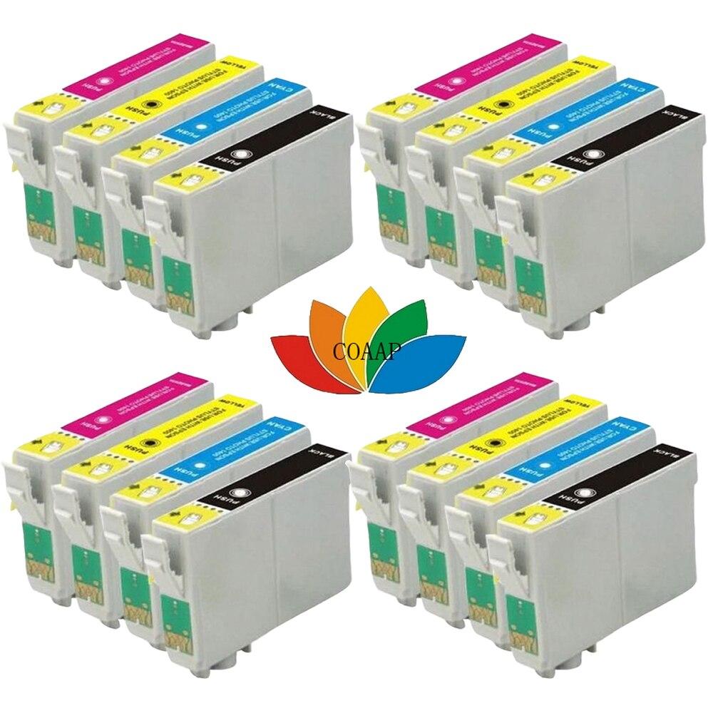 16 чернильные картриджи для EPSON совместимый XP215 XP-215 XP-412 XP-415 XP-202 XP-102 XP-302 принтер 18XL T1811 T1812 T1813 T1814