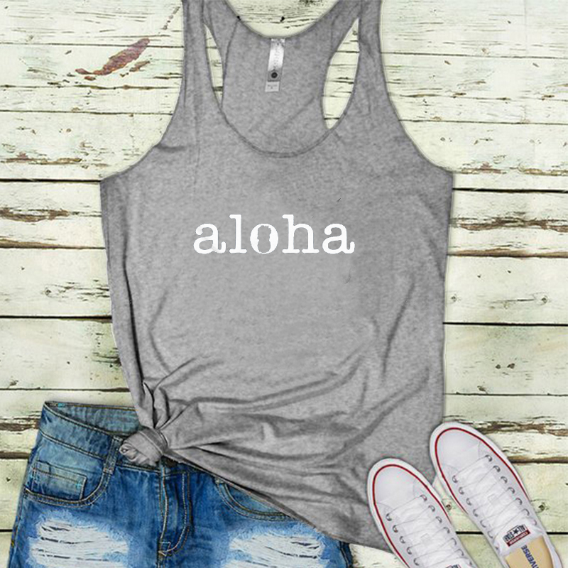 hippie soul top women aloha sexy tops girl 2019 harajuku womens clothing tank festival plus size print street style california in Tank Tops from Women 39 s Clothing
