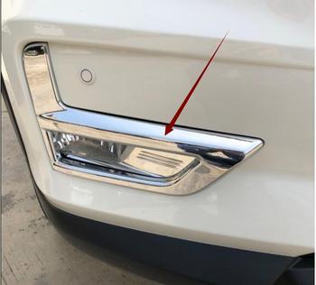 Untuk 2017 2018 2019 Nissan Rogue X-Trail T32 Facelift Xtrail Ini dengan Lampu Kabut Depan Lampu Penutup Chrome Bumper Reflektor aksesoris