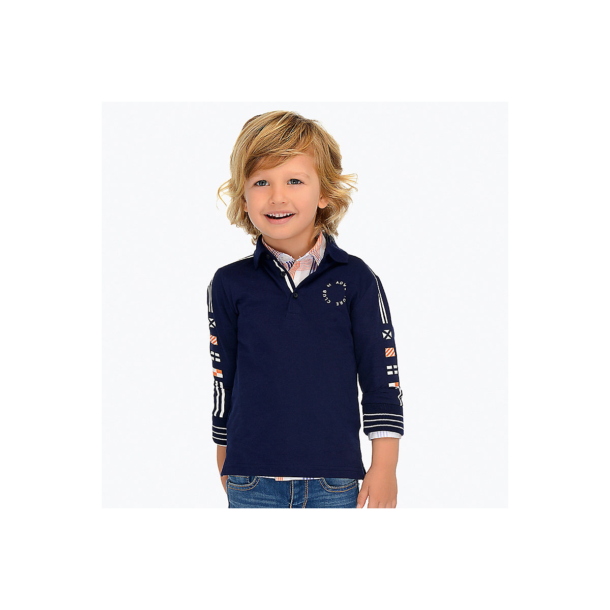 MAYORAL Polo Shirts 10681469 Children Clothing T-shirt Shirt The Print For Boys