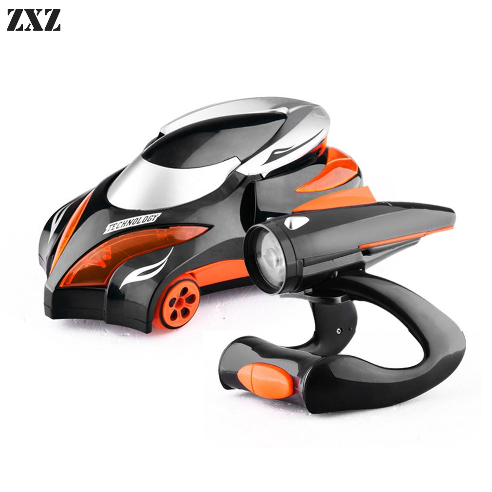 New RC Car Infrared Tracking Stunt Vehicle Remote Control Electronic Toy For Child Birthday Gift With Sound And Light