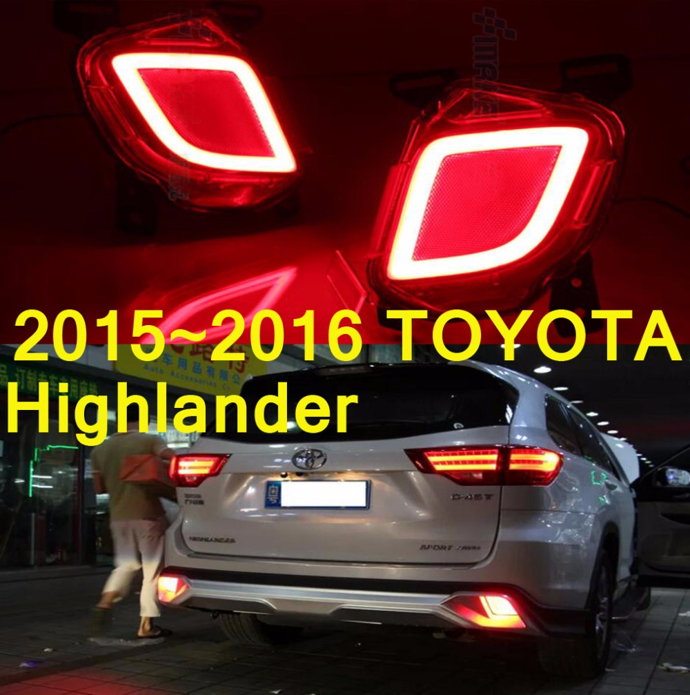 Highlander breaking light;2015~2016,Free ship!VIGO,LED,Highlander rear light,2pcsHighlander taillight наталья мигунова веселый новый год