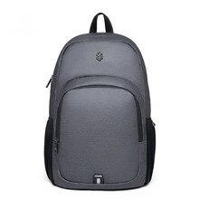 Fashion Unisex School Bag High-capacity business Casual Computer Backpack Travel Bag 2018 Korean Canvas shoulder Laptop Backpack